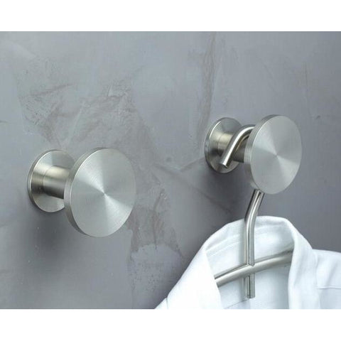 PSBA Towel Robe Hook Hanger for Bath, Kitchen Towel Holder Stainless Steel Matte - AGM Home Store LLC