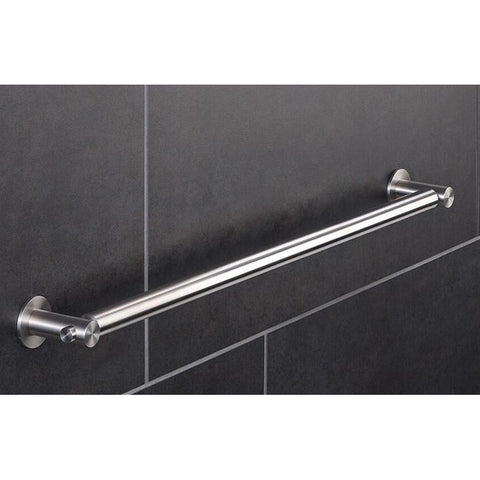 PSBA Towel Bar Rail Holder Hanger for Bathroom Towel Hanging Rack, Steel Matte - More Sizes Available - AGM Home Store LLC