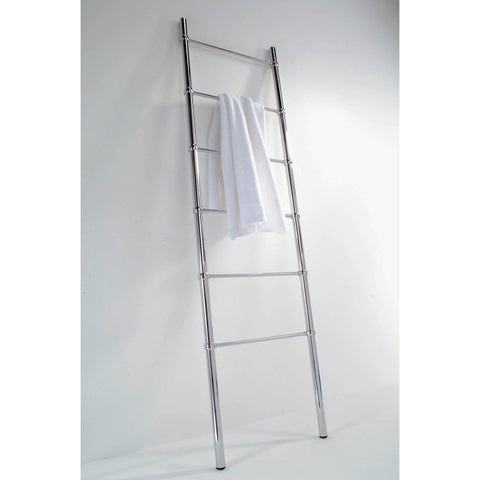 HTL 50 Brass Free Standing Towel Rack Ladder for Bath Spa Towel Hanger, 18.9 inch - AGM Home Store LLC