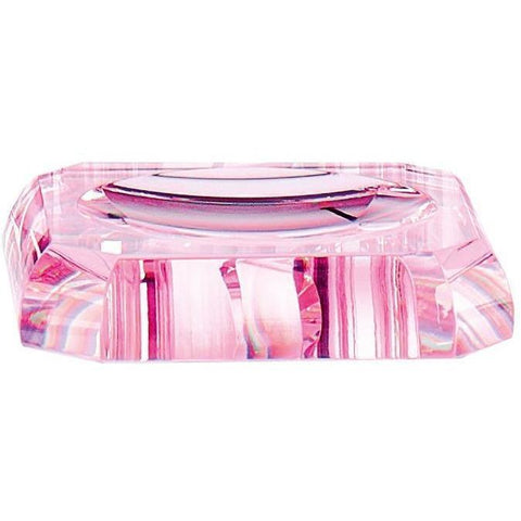 KR STS Round Bathroom Soap Dish Holder Tray Soap Holder, Soap Saver, Glass - AGM Home Store LLC