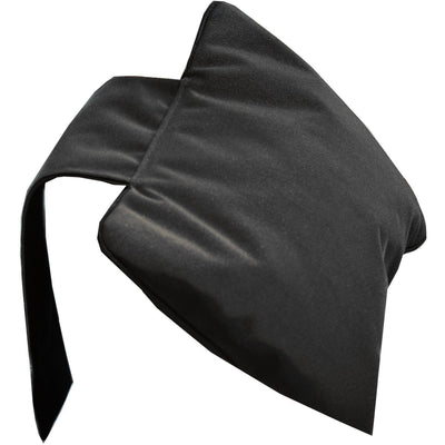 DWBA Black Luxury Bathtub and Spa Bath Pillow Cushion with Counterweight, Nylon - AGM Home Store LLC