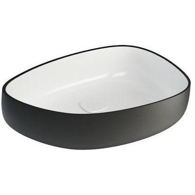 Fosi Shapeless Ceramic Vessel Sink Bowl Above Counter Sink Lavatory Washbasin - AGM Home Store LLC
