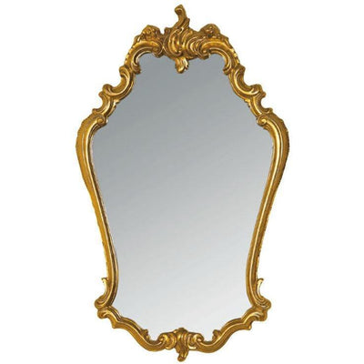 GM Luxury Molise Decorative Wall Art Mirror for Elegant Design, Gold Leaf 22.4x37.4 - AGM Home Store LLC