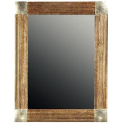 GM Luxury Molveno Decorative Wall Art Mirror for Elegant Interior Design 26.4x34.3 - AGM Home Store LLC