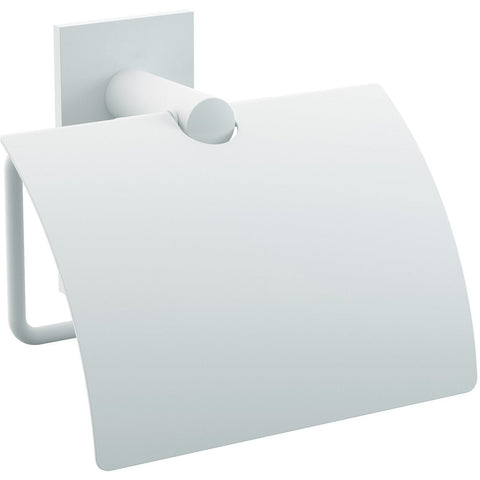 Tick Self-Adhesive Toilet Paper Holder Bath Tissue Roll Paper Dispenser With Lid - AGM Home Store LLC