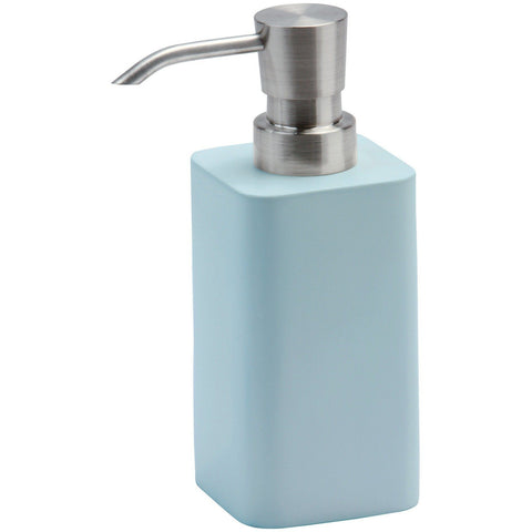 Ona Square Resin Bathroom or Kitchen Pump Liquid Soap Lotion Dispenser - AGM Home Store LLC