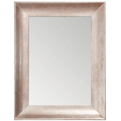 GM Luxury Oceania Decorative Wall Art Mirror for Elegant Design, Oxidised Silver 27x35 - AGM Home Store LLC