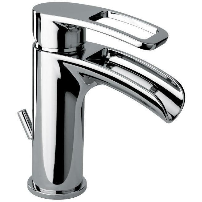 Kome small waterfall single handle Bathroom lavatory faucet (1.2 GPM) - AGM Home Store LLC