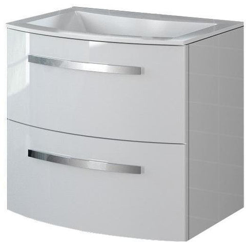 LaToscana Palio 22 in. Small Wall Mounted Bathroom Vanity Cabinet Set Bath Furniture - AGM Home Store LLC