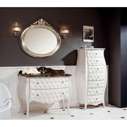 "GM Luxury Prisca 45.3"" Bath Vanity Cabinet Set Single Sink Glossy Lacquer - AGM Home Store LLC"