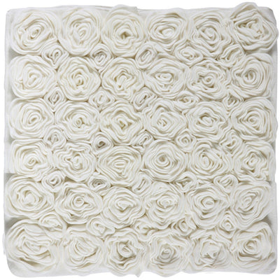 Rose 2600 gsm Luxurious Decorative Machine Washable Bath Mat, Cotton Polyester - AGM Home Store LLC