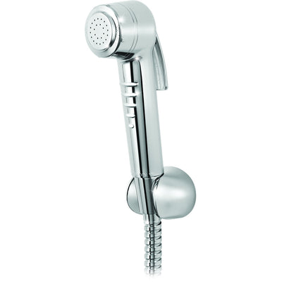 ME Handheld Toilet Bath ABS Bidet Diaper Shower Spray Sprayer Faucet Chrome - AGM Home Store LLC