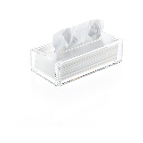 SKY KB Tissue Box Holder Cover Tray Dispenser Tissue Case - Clear Acryllic - AGM Home Store LLC