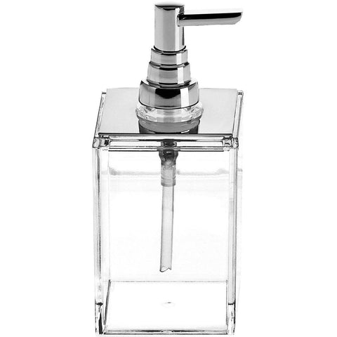 DWBA Soap Lotion Dispenser Pump for Kitchen/ Bathroom Countertops. Acrylic Clear - AGM Home Store LLC
