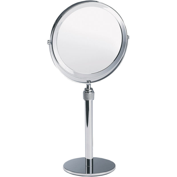 SP 13/V / SP 15/V Table Height Adjustable Cosmetic Makeup 5x Magnifying Mirror, Chrome - AGM Home Store LLC