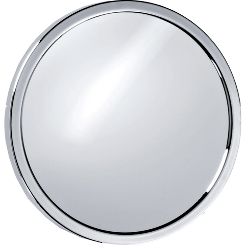 DWBA Round Suction cup 5X Cosmetic Makeup Magnifying Mirror, Chrome