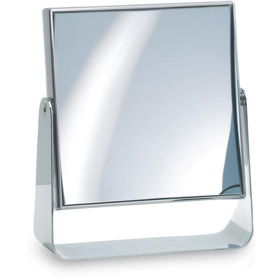 DWBA Rectangular Table Cosmetic Makeup ADJ Magnifying Mirror. Chrome - AGM Home Store LLC