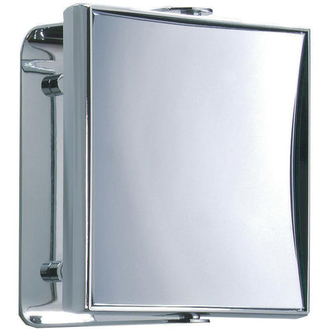 SPT 66 / SPT 68 Rectangular Wall Cosmetic Makeup ADJ Magnifying Mirror. Chrome - AGM Home Store LLC