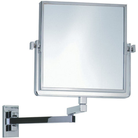 SPT 82 Dual Sided Wall Cosmetic Makeup 3X Magnifying Mirror, Swivel, Extendable - AGM Home Store LLC