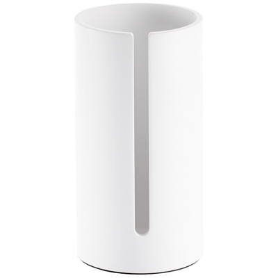 DWBA Stone Standing Toilet Paper Roll Holder For Bath Storage, Canister    White