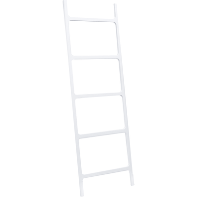 DWBA Stone Standing Towel Rack Ladder for Bathroom Spa Towel Hanger, White - AGM Home Store LLC