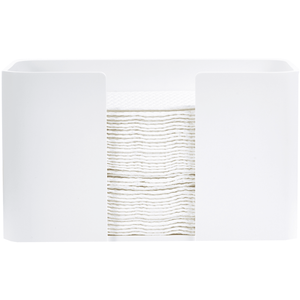 DWBA Stone Table Guest Towel Holder, Small Towel Tray Dispenser Tissue, White - AGM Home Store LLC