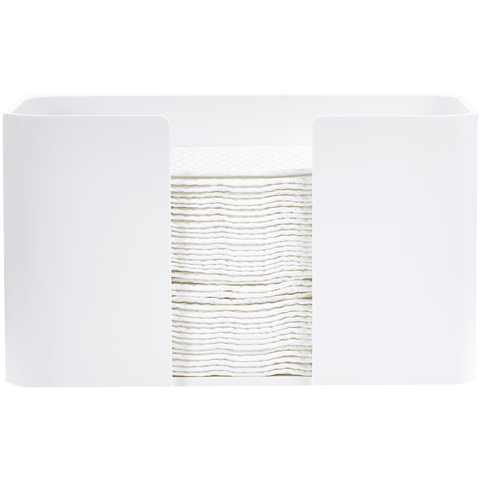 DWBA Stone Table Guest Towel Holder, Small Towel Tray Dispenser Tissue, White