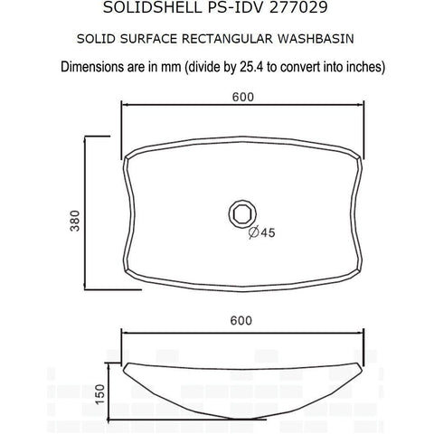 Solidshell 24 in. Vessel Sink Bowl Above Counter Sink Lavatory for Vanity Cabinet - AGM Home Store LLC