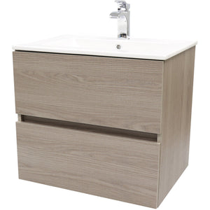 "Surf 24""/ 32"" Wall Bathroom Vanity Cabinet Set Bath Furniture With Single Sink Estepa/ White/ Wenge - AGM Home Store LLC"