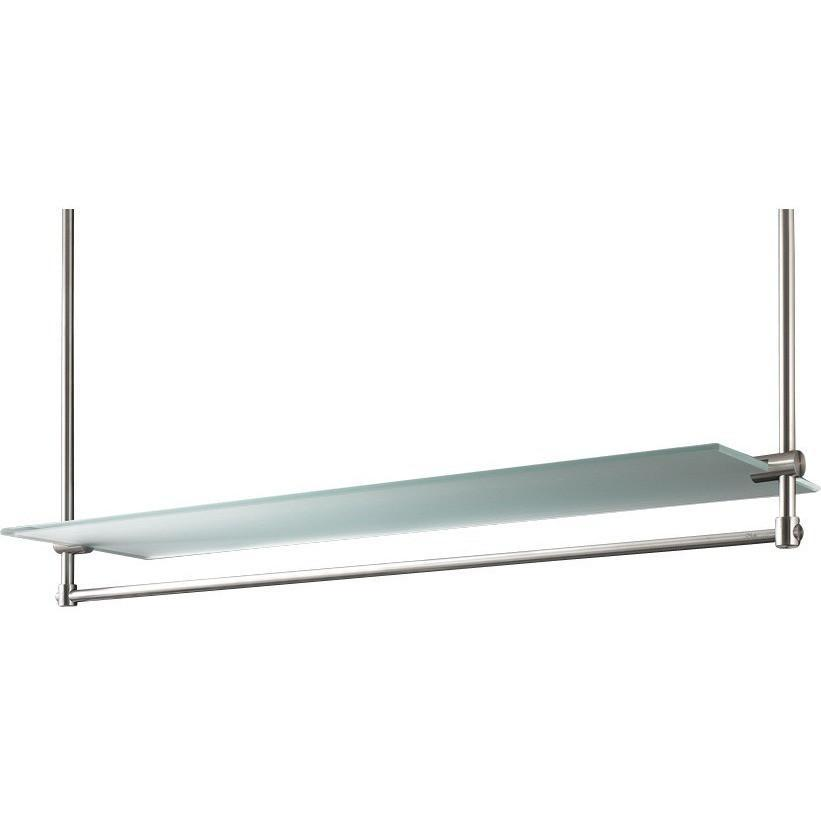 PSBA Celing Towel Bar Rail Holder Hanger Shelf Storage Rack Organizer Matte - More Options Available - AGM Home Store LLC