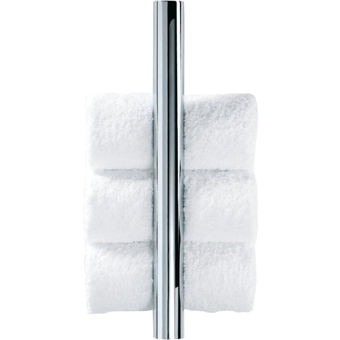 DWBA Chrome Guest Towel Holder Vertical Towel Rack, Hanger for Bathroom - AGM Home Store LLC