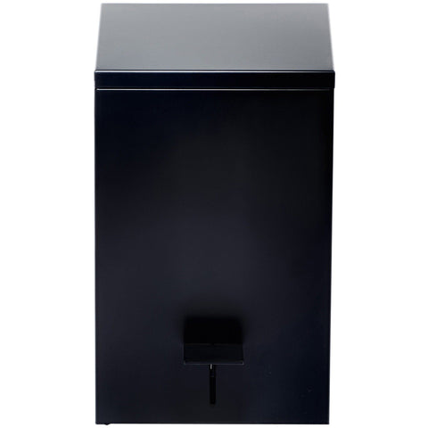 DWBA Square Pedal Trash Can, Steel Wastebasket With Lid, Softclose System - AGM Home Store LLC