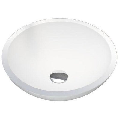 "GM Luxury Round 16"" Resin Vessel Sink Bowl Above Counter Sink Vanity Washbasin - AGM Home Store LLC"