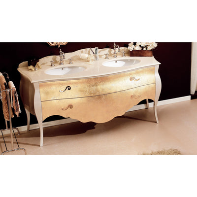 "GM Luxury Tristan 69"" Master Bathroom Vanity Decorated Cabinet Set Double Sink - AGM Home Store LLC"