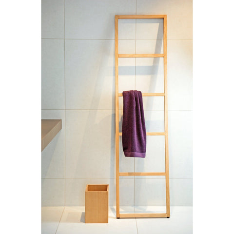 WO HTLB Free Standing Towel Rack Ladder for Bath Spa Towel Hanger, 16.9 inch Width - AGM Home Store LLC
