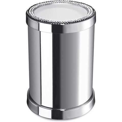 Starlight Round Table Toothbrush Holder W/ Swarovski Crystals - AGM Home Store LLC