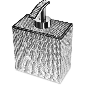 Starlight Square Soap Dispenser W/ Swarovski Crystals - AGM Home Store LLC