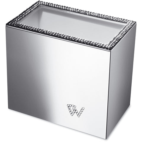 Starlight Square Toothbrush Holder W/ Swarovski Crystals - AGM Home Store LLC
