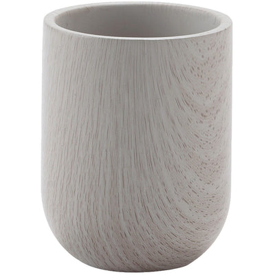 Zenya Light Gray Concrete Bathroom Toothbrush Holder Standing Toothpaste Tumbler - AGM Home Store LLC