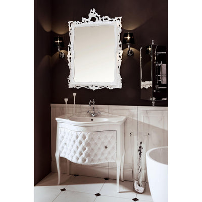 "GM Luxury Zena 33.5"" Bathroom Vanity Cabinet Set Single Sink Glossy Lacquer - AGM Home Store LLC"