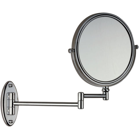 DI Wall Mounted Double Sided Adjustable Cosmetic Makeup Magnifying Mirror - 3x - AGM Home Store LLC