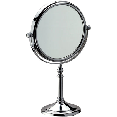 DI Table Top Double Sided Adjustable Cosmetic Makeup Magnifying Mirror - 3x - AGM Home Store LLC