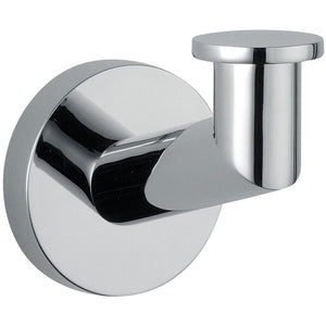 DI Hilton Wall Towel Robe Hook Hanger for Bath Towel Holder - Brass Chrome - AGM Home Store LLC