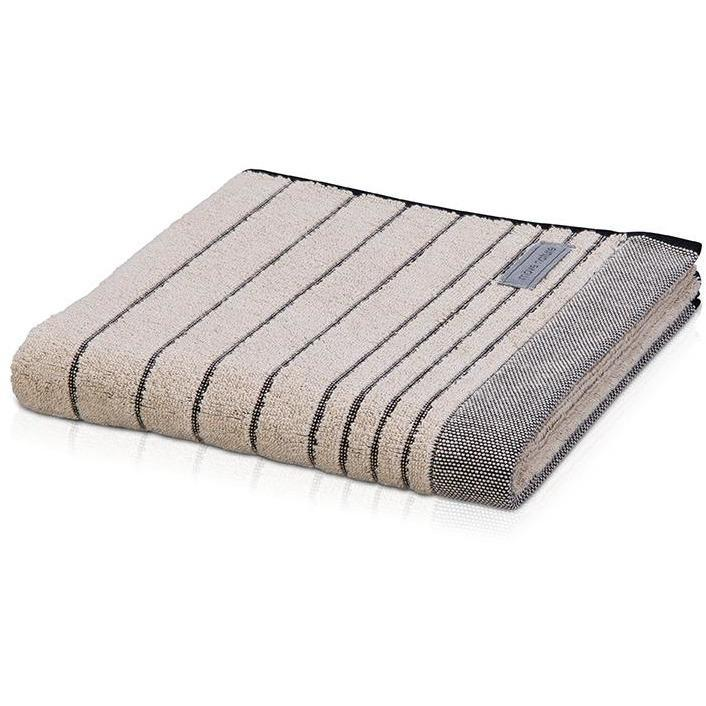 MV Stripes Looped Hem Premium Cotton Towel Machine Washable Super Soft Absorbent - AGM Home Store LLC