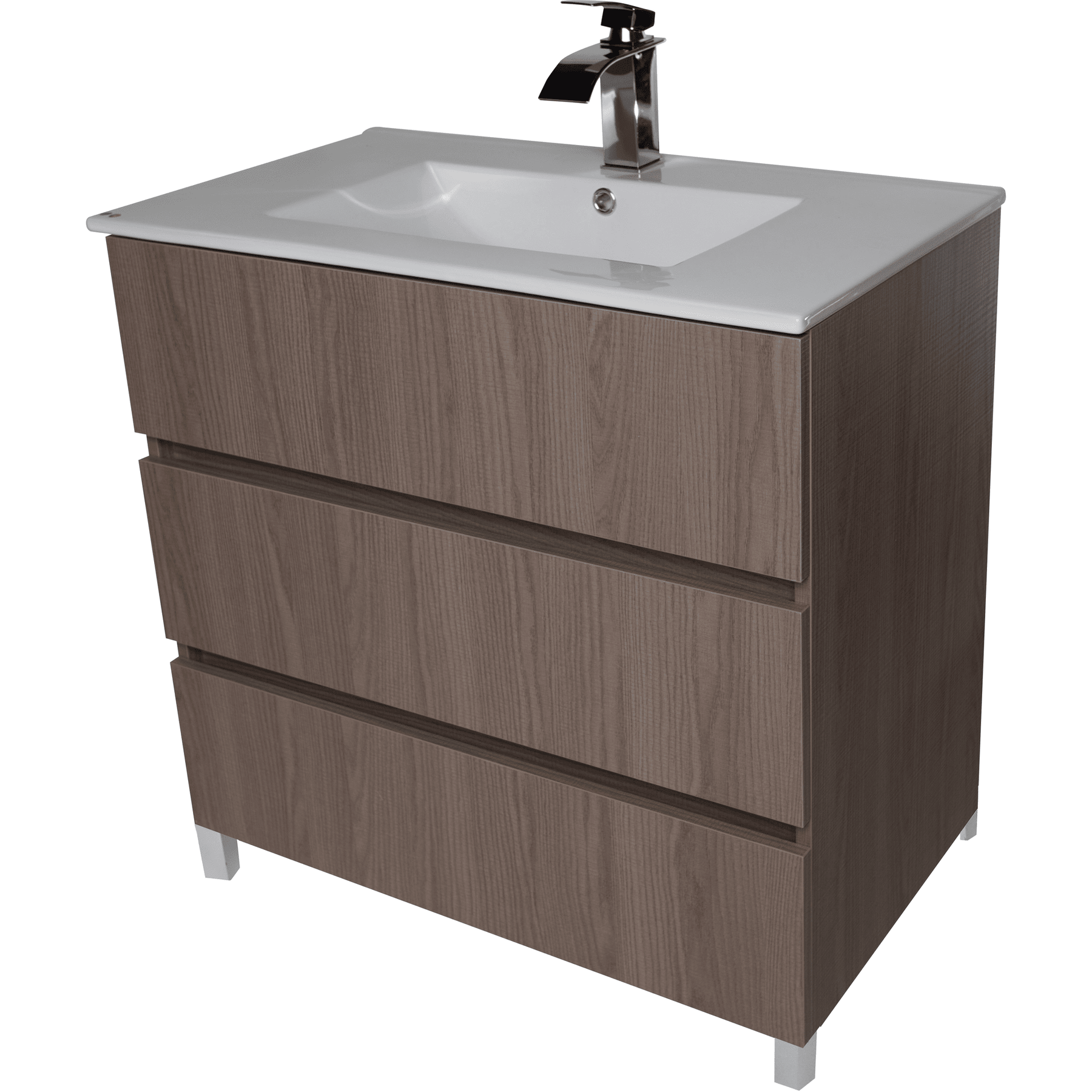 Samba 32 Standing Bathroom Vanity Cabinet Set Bath Furniture With Single Sink Estepa White Wenge Cv Bath Collection Bathroom Vanities And Sink Consoles 1300 00 1400 00 1 Business Day 3 Drawers 30