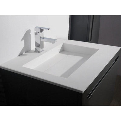Ideavit Solidlight 35 / 47 in. Countertop Vanity With Rectangular Basin- Single Sink - AGM Home Store LLC