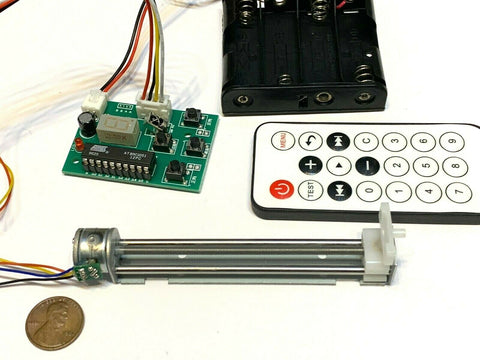 DIY linear actuator Stepper Motor Driver 2 phase 4 wire Controller Remote C19