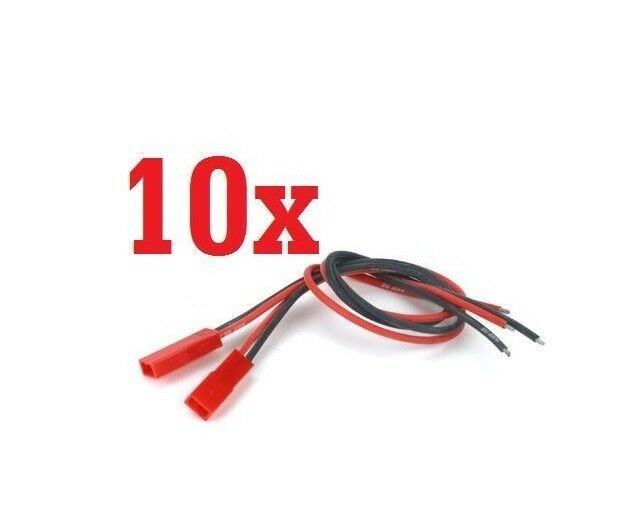 USA! 10 pairs JST Plug Connector RC Lipo Battery Male & Female b23