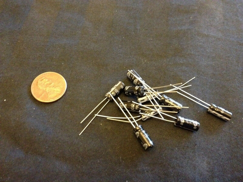10 Pieces  50V 1UF Electrolytic Capacitor 5x11mm Radial C3