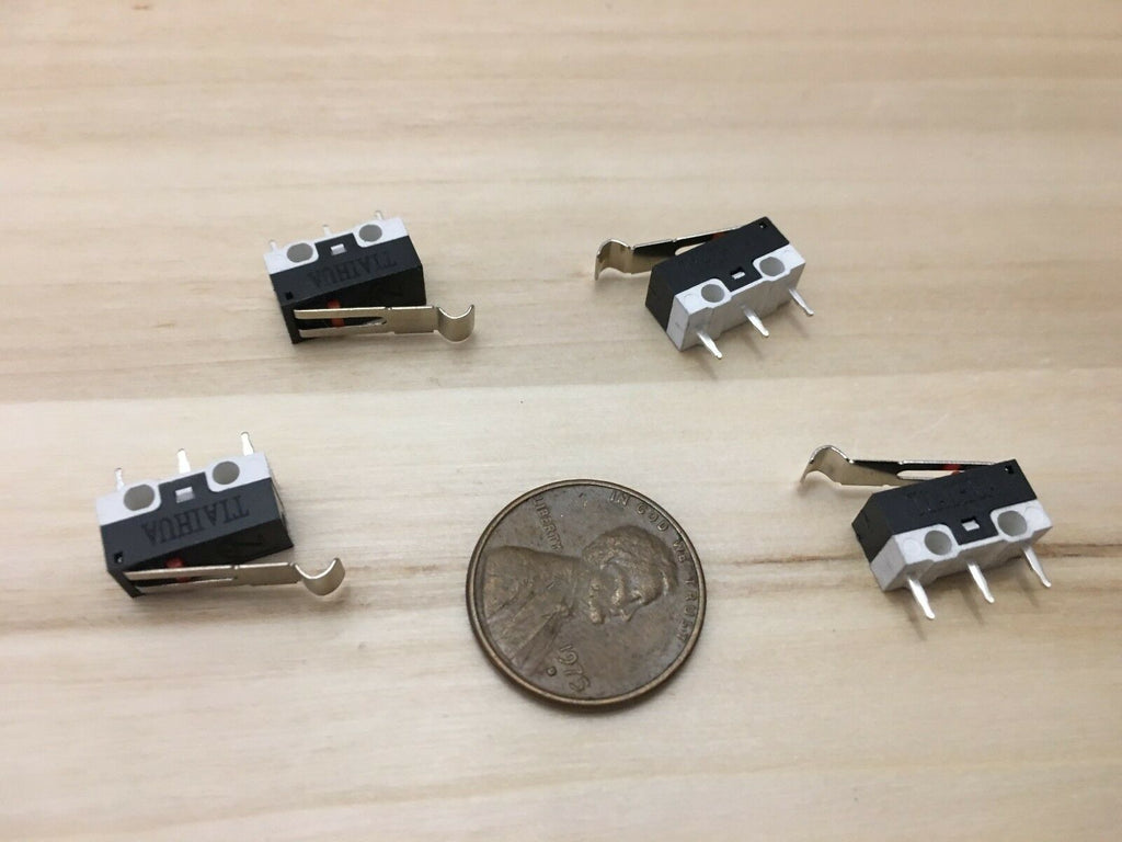 4 Pieces _-_ Limit Switch Lever 3d Printer mk8 mk10 MK7 n/c n/o arm ac dc B5